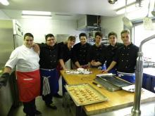 Photo de l'équipe de la cuisine du SEMO de Bex